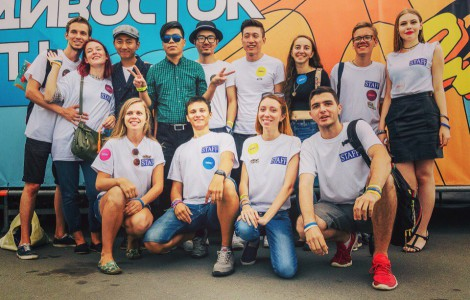 Волонтеры V-ROX